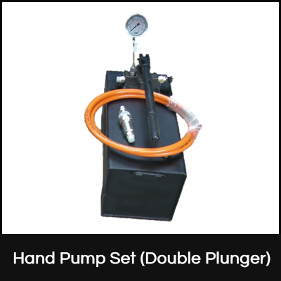 Hand Pump Set (Double Plunger)